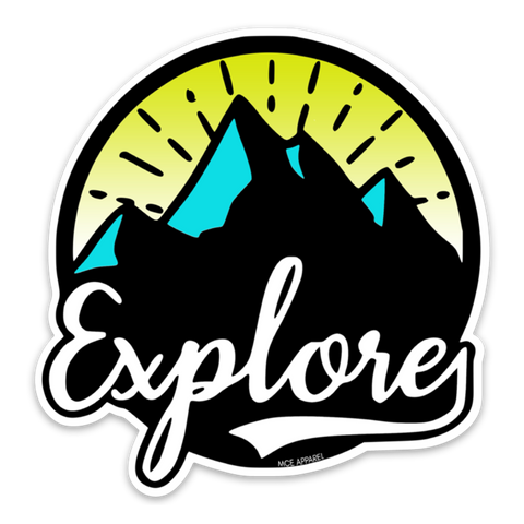 Mount Explore Sticker - MCE Apparel