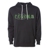 The cORona Unisex Hoodie, Black - MCE Apparel