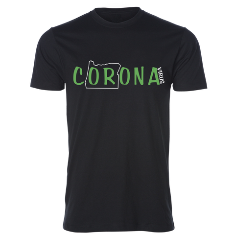 The cORonavirus Unisex Tee, Black - MCE Apparel