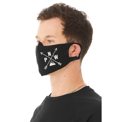PNW Compass Face Mask