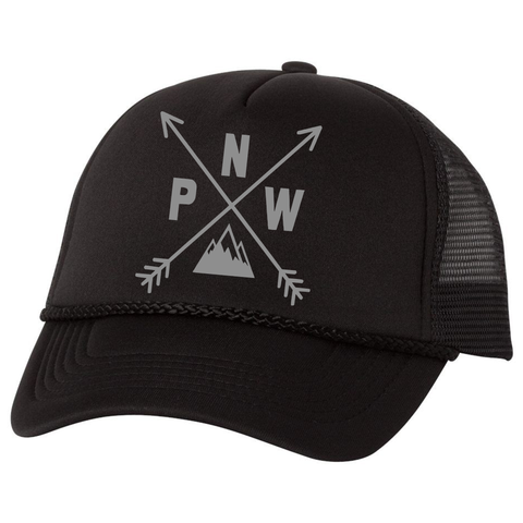 PNW Compass Hat, Black - MCE Apparel