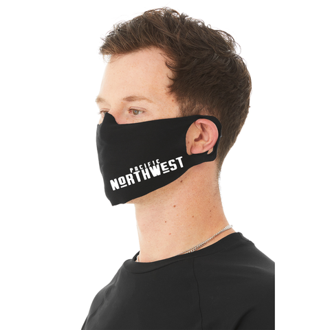 White Pacific Northwest Face Mask