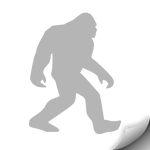 Sasquatch Decal, Grey - MCE Apparel