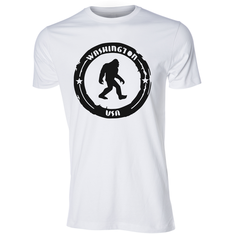 Sasquatch Search Team Tee, White