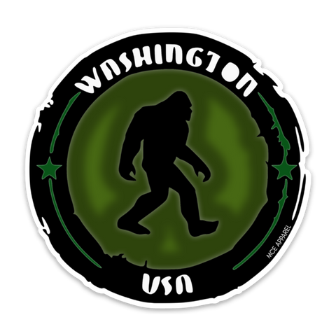 Sasquatch Search Team Sticker - MCE Apparel