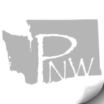 Washington PNW Decal, Grey - MCE Apparel