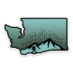 WA Sasquatch Sticker - MCE Apparel