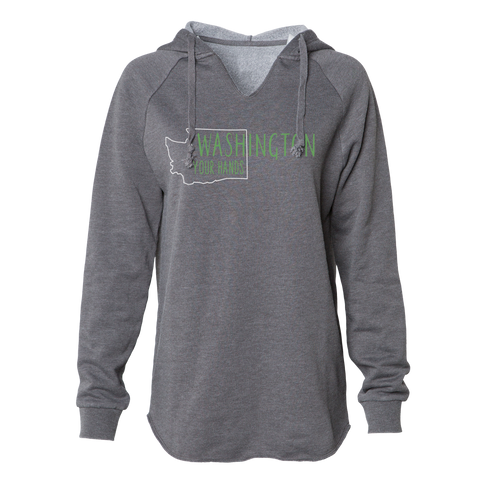 WAsh Your Hands Women's Hoodie, Grey - MCE Apparel