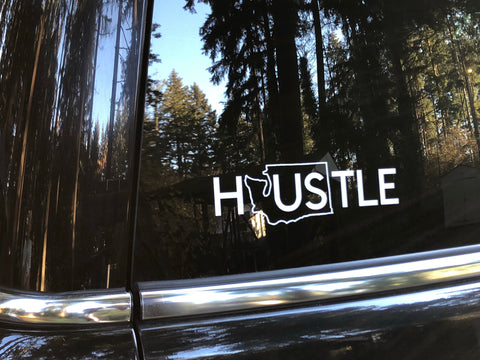 WA Hustle Decal
