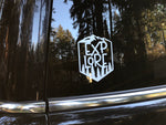 MCE Apparel - Explore Decal, White
