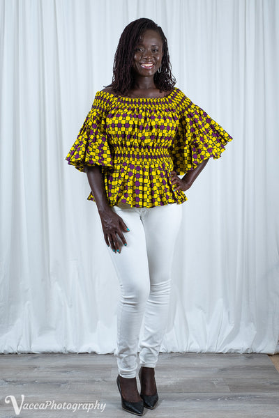 Ankra Off-Shoulder Blouse