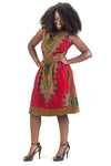 Dashiki Sundress w/pockets