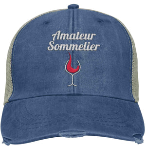 Amateur Sommelier - Distressed Trucker Cap