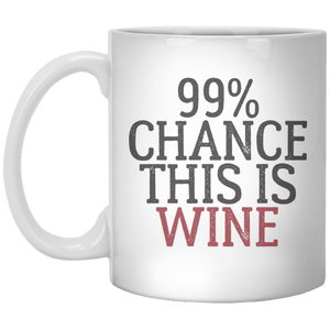 99% Chance This is Wine Mug