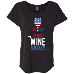 Red Wine & Blue T-Shirt
