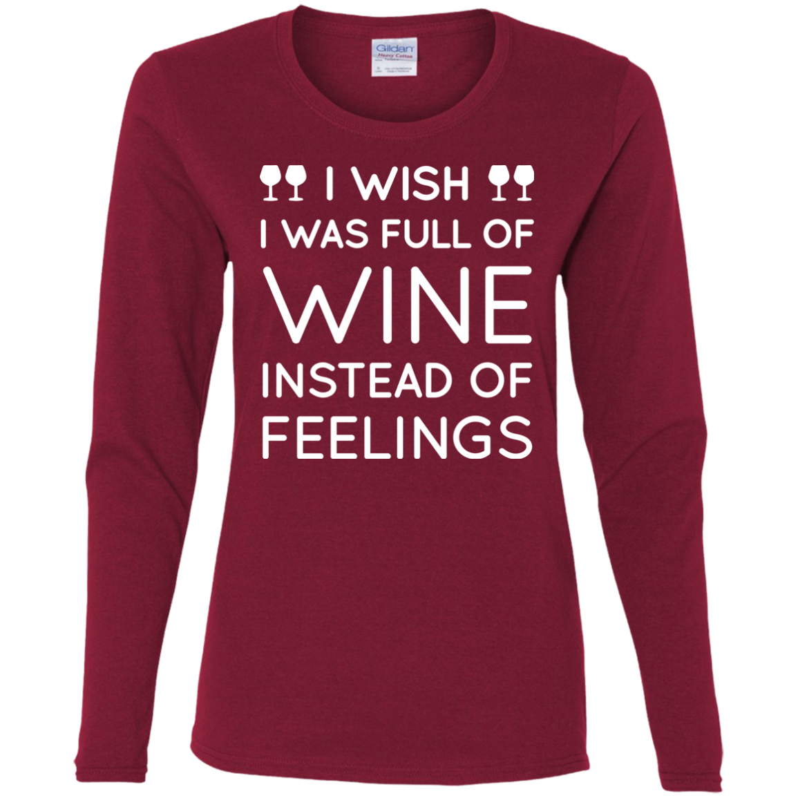 Wine Instead of Feelings