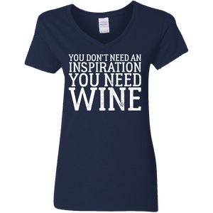 You Don't Need an Inspiration, You Need Wine