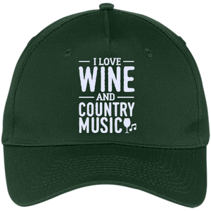 Wine and Country Music - Twill Cap