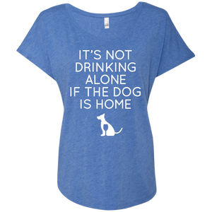It's Not Drinking Alone If the Dog is at Home