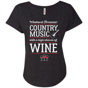 Country Music With a Chance of Wine