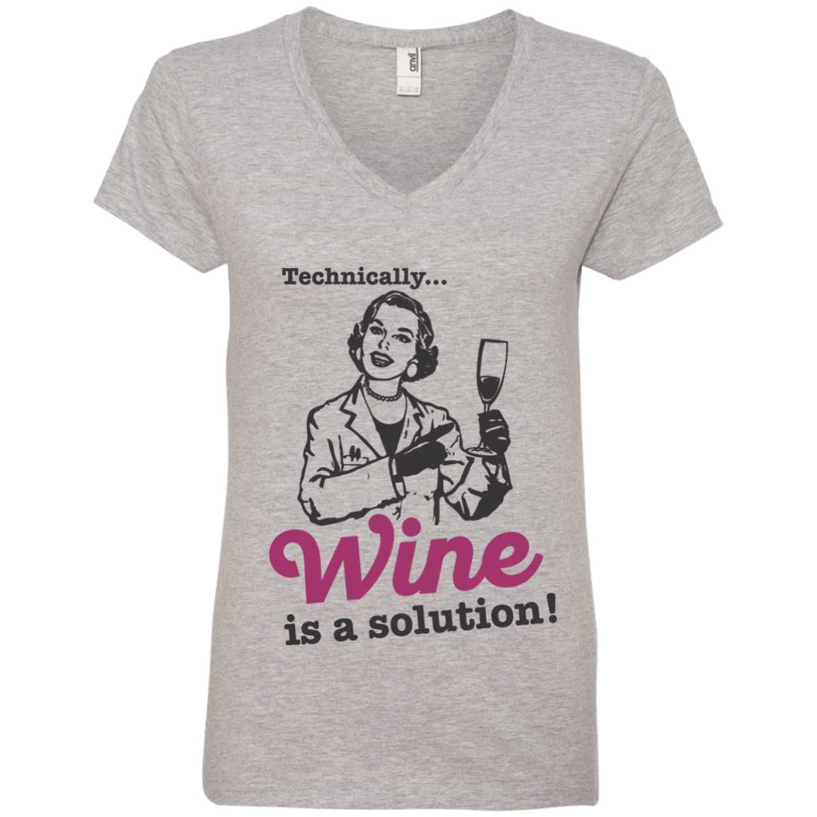 Wine is a Solution