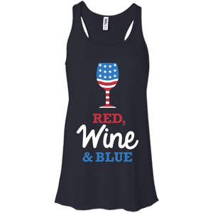 Red, Wine & Blue