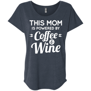 Mom Powered by Coffee and Wine