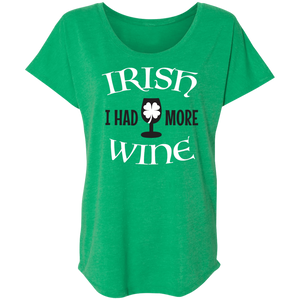 Irish I Had More Wine