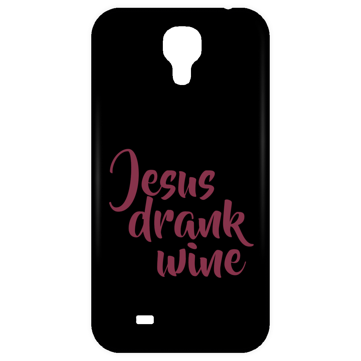 Jesus Drank Wine Phone Case