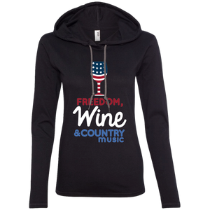 Freedom Wine & Country Music Tshirt
