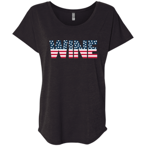 Wine Flag Tshirt