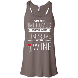 I Improve with Wine