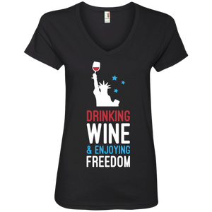 Drinking Wine & Enjoying Freedom