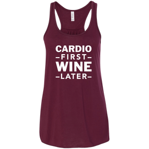 Cardio First Wine Later
