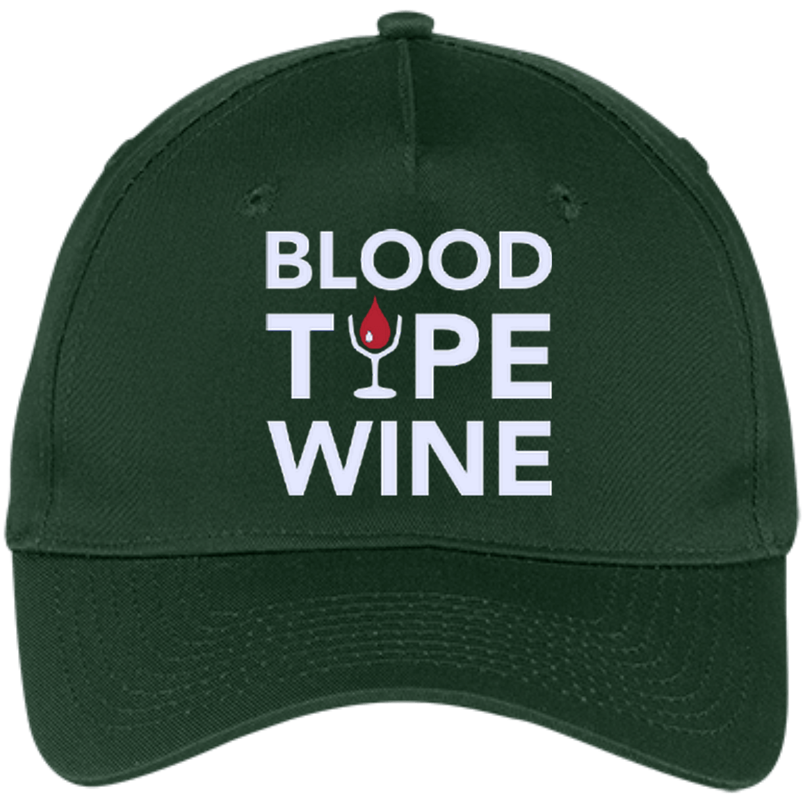 Blood Type Wine - Twill Cap