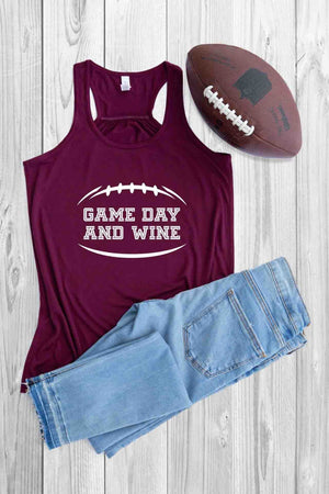 Game Day and Wine