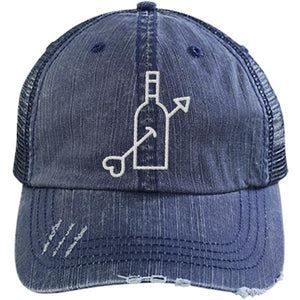 Valentine's Day Arrow - Distressed Trucker Cap