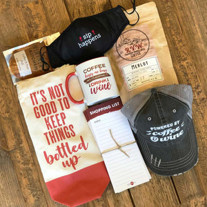 Coffee & Wine Lovers Gift Box