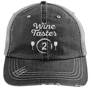 Wine Taster 2 - Distressed Trucker Cap