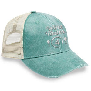 Wine Taster 4 - Distressed Trucker Cap