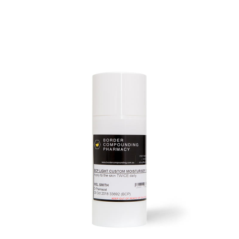 BCP Custom Moisturiser - LIGHT - bcp-skincare