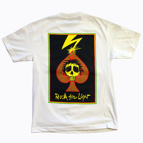ROCK FOR LIGHT WHITE SHORT SLEEVE