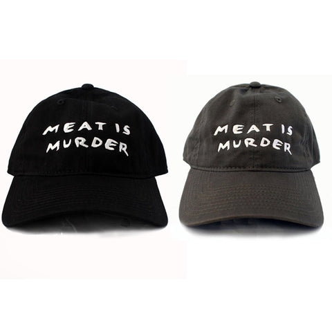 MEAT IS MURDER STRAP BACK HAT