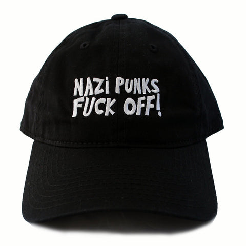 NAZI PUNKS FUCK OFF DAD HAT