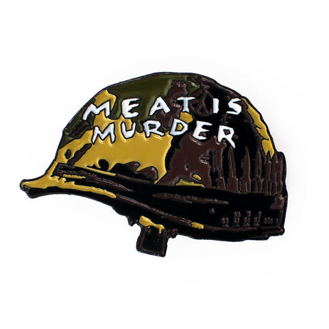 MEAT IS MURDER PIN