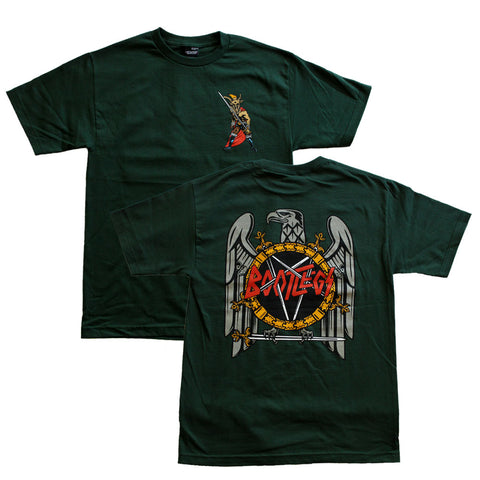 NO MERCY TEE HUNTER GREEN