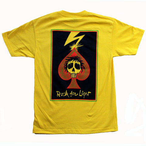 ROCK FOR LIGHT YELLOW SHORT SLEEVE