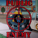 SPRINGFIELD'S ENEMY PIN