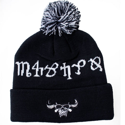 BRINGER OF DEATH POM BEANIE