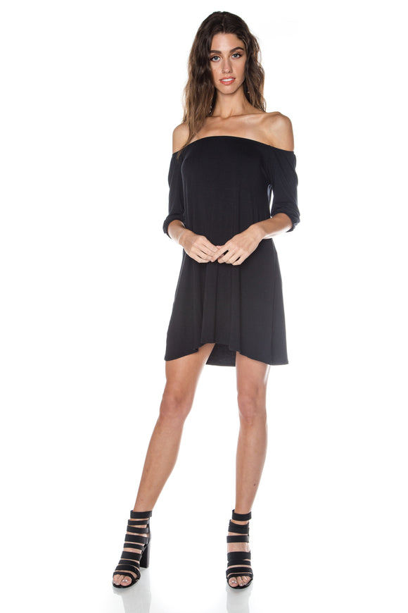 Off The Shoulder Mini LBD
